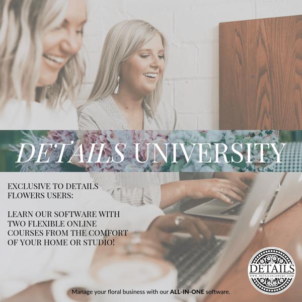 DETAILS University Courses